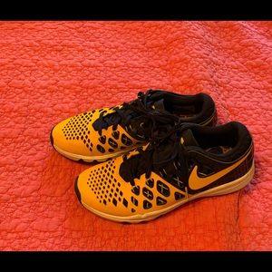 University of Michigan Nike sneakers